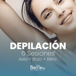 Bozo + Axila + Bikini – 6 Sesiones
